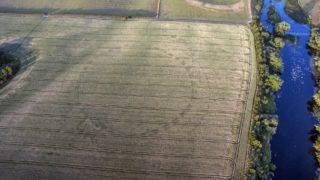 Un drone descubre un monumento prehistórico en Irlanda
