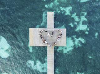Drones para bodas, imágenes de película inolvidables