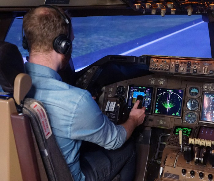 Simulador de vuelo 10