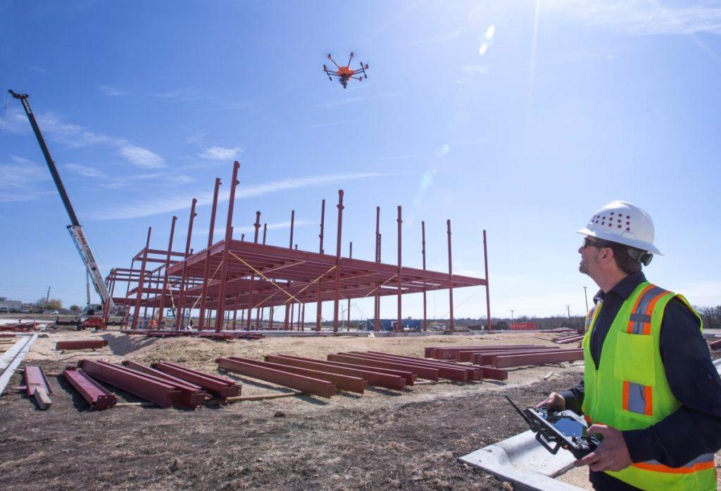 Piloto de Drones Construccion