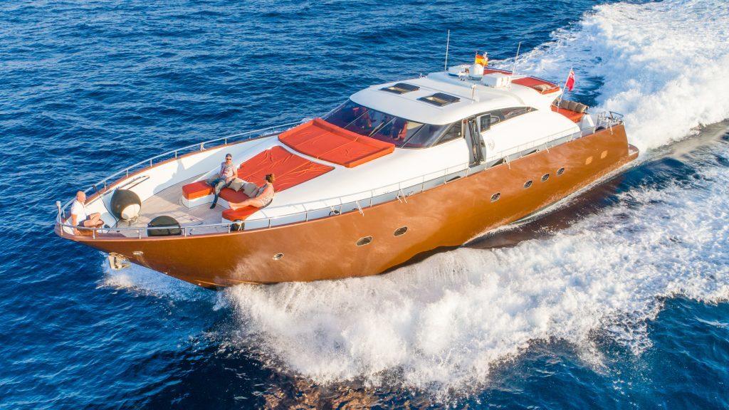 Drones Mallorca eventos acuáticos
