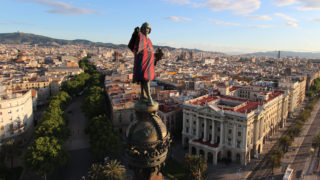 Rental Drones Barcelona, professional Aerial Filming