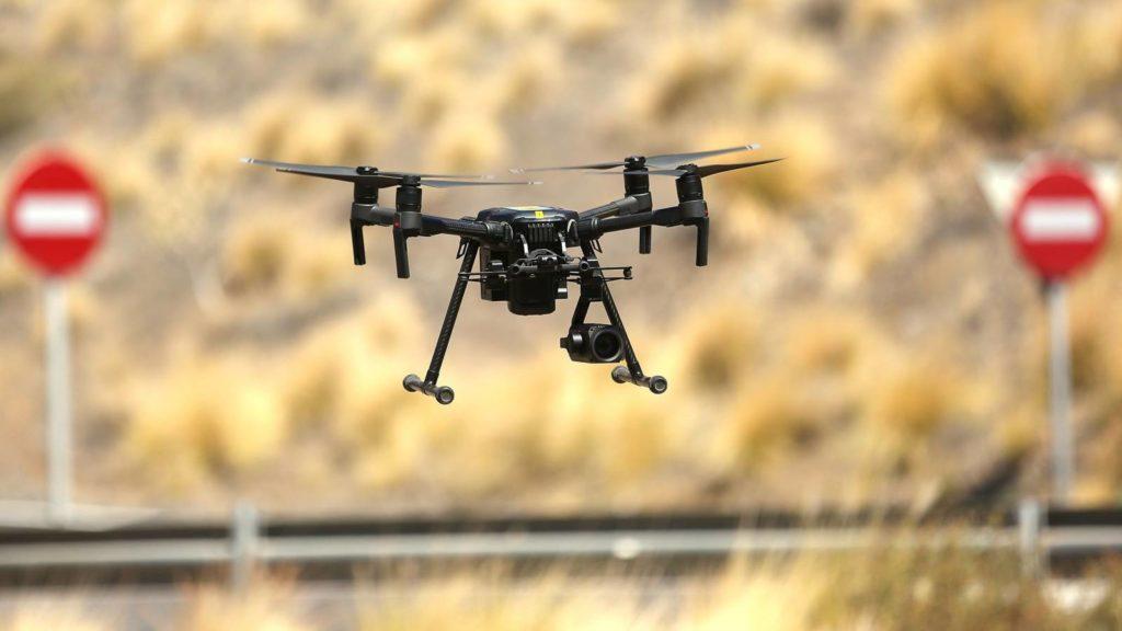 grabacion con drones