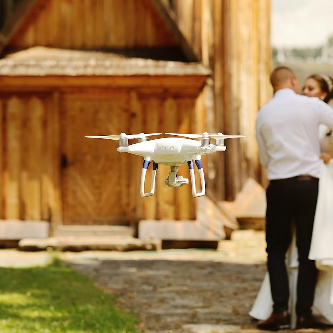 drones para bodas 1